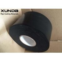 China 25 Mils Black White Corrosion Resistant Tape With PE Backing Butyl Adhesive wholesale