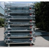 China Zinc Finish Rigid Rolling Wire Mesh Cages With Foot Brakes / Castors on sale