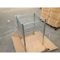 China Clear Lacquer Retail Store Equipment 600 x 600 x 900mm Zinc Plated Table wholesale