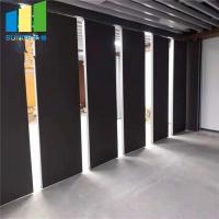 China School Classroom Folding Operable Soundproof Movable Sliding Partition Walls wholesale