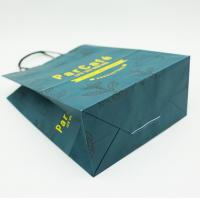 China Birthday Kraft Custom Printed Paper Bags With Handles Holiday Party Durable wholesale