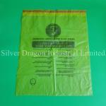 Large drawstring HDPE garbage bags, size 66x85cm, Professional manufacturer,