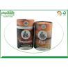 China Brown Craft  Cardboard Tea Tube Packaging Durable Food Grade Eco - Friendly wholesale