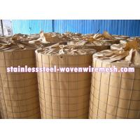 China Light Weight Stainless Steel Welded Wire Mesh 3 X 3 For Fencing Long Service Life wholesale