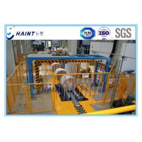 Paper Mill Stretch Film Wrapping Machine , Paper Roll Handling Equipment Large Capacity