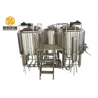 Buy cheap manual control Beer Brewing Equipment 1000L microbrewery with indoor condenser from wholesalers