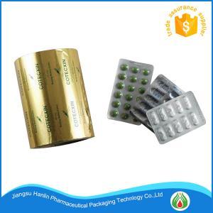 China Blister Aluminium Foil Roll Pharmaceutical PTP Foil For Medical Packing wholesale