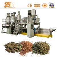 China Animal Feed Processing Machine / Floating Fish Feed Machine SGS Certification on sale