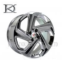 Luxurious Machined Aluminum Wheels 5 Spoke Deep Lip Rims Electroplating Finished Manufactures