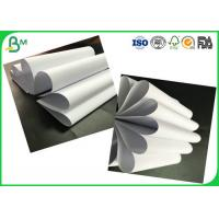 China High Smoothness 60gsm - 90gsm Uncoated White Woodfree Printing Paper Rolls Passed FSC Certification wholesale