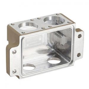High Precision Aluminium Die Castings , White Machined Box For Equipment Manufactures