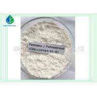China Faslodex Hormonal Fulvestrant Cutting Cycle Steroids 129453-61-8 For Breast Cancer Treatment wholesale