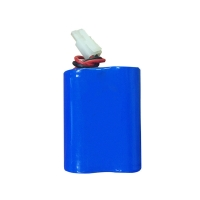 Buy cheap 6000mAh 6.4V Lithium Iron Battery Pack with Custom Lithium Battery Packs from wholesalers