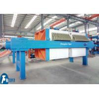 China 30m2 Industrial Filter Press 870mm PP Plate Type For Electroplating Wastewater Plant on sale
