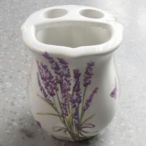 China Ceramic Tooth Brush Holder in Elegant Design wholesale
