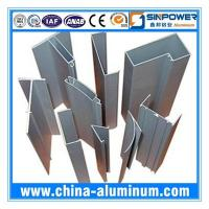 China Powder Coating Roller Shutter Doors Aluminium Profile wholesale
