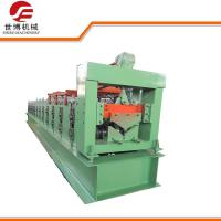 China Color Steel Metal Ridge Cap Roll Forming Machine Making Construction Stent wholesale