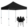 China Black Gazebo Folding Tent , Small Outdoor Gazebo Tent Easy To Transport wholesale