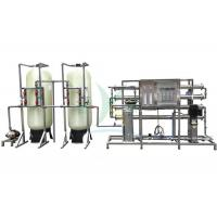 China 2TPH RO Water Treatment System Plant For Irrigation / Drinking RO Filter System wholesale