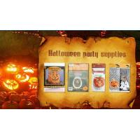 China Die Cut Cellophane halloween treat bags Handle For Hallowmas Party wholesale