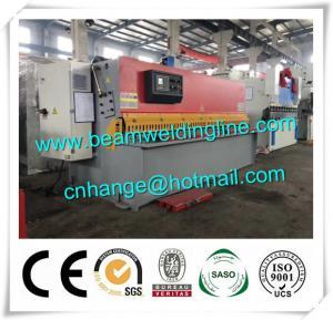 China QC12Y Hydraulic Shearing Machine , Swing Shearing Machine 10x3200 wholesale