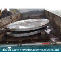 Quality ASTM B265 CNC Titanium Metal Sheets For Tube Type Heat Exchanger for sale