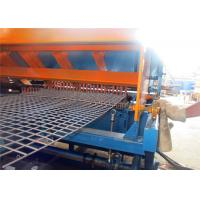 China Automatic Electric Steel Welded Wire Mesh Machine For Roll Fence 1-3m Width wholesale