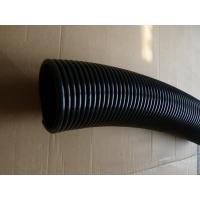 Quality 125mm High Pressure PVC Flexible Air Duct Hose With Black Or Grey Color for sale