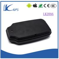 China easy install car gps tracker magnetic with battery standby 90days ----Black LK209A wholesale