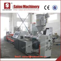 China single wall corrugated pipe production pe corrugated pipe production line wholesale