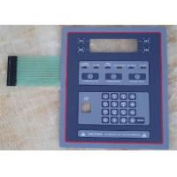 China Waterproof Silicone Rubber Membrane Switch Panel Sticker With Heat Resisting wholesale