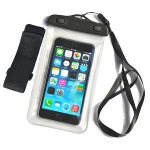 China Mobile phone pvc waterproof bag,waterproof mobile bag, transparent PVC waterproof mobile bag wholesale