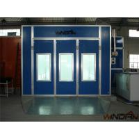 China Environmental Protect Side Draft Paint Booth With 4kw Exhaust Fan on sale