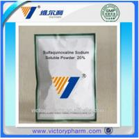 Quality Anti-parasite drug Sulfaquinoxaline Sodium Soluble Powder for sale