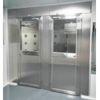 China Air Shower for Persons and materials with 4 doors controlled by PLC and touch screen wholesale