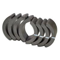 China Industrial Sintered Ferrite Arc Magnet , Permanent Rare Earth Ferrite Magnet wholesale