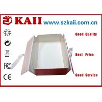 China Customized Folding Gift Packaging Boxes For Food / Pantone Color Printing wholesale