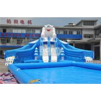 China Adult Outdoor Inflatable Water Park , Children Water Park Playground Equipment wholesale
