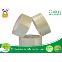 Quality Bopp Self Adhesive Tape Strong Solvent Acrylic Adhesive Clear Packaging Tape for sale
