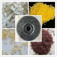 High Efficiency Artificial Rice Production Line With Single Screw Extruder Manufactures