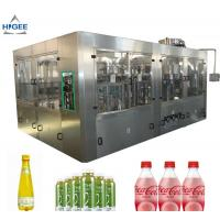 China 6 Capping Head Carbonated Soda Filling Machine / Carbonated Drink Bottling Machine wholesale