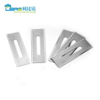 China Double Edged 22mm Width 0.2mm Plastic Film Cutting Blade wholesale
