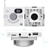 Buy cheap Wall Speaker Switch Design Portable Multi-functional Stereo Speaker FM Time from wholesalers