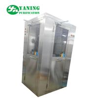 Buy cheap Stainless steel L type door corner air shower room customize size from wholesalers