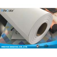 China Wide Format Digital Inkjet Printing Cotton Canvas Roll 320gsm wholesale