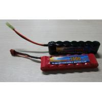 China High Power Discharge Typ 8.4V 1600 mAh  Airsoft Gun Battery / Rechargeable NIMH AA Batteries wholesale