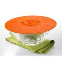 China 5Pcs Food Grade Reusable Silicone Food Fresh Cover Suction Lid For Bowls Cups wholesale
