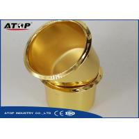 China Easy Control Gold / Brown Vacuum Coating Machine For Metal Pot Decorative on sale