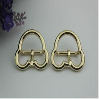 China Luggage hardware accessories Mickey Mouse shape 25 mm gold zinc alloy pin buckle for leather accessories wholesale