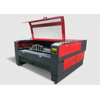China 150 W CNC Co2 Laser Cutting Engraving Machine 4 Head For Leather / PU / Canvas wholesale